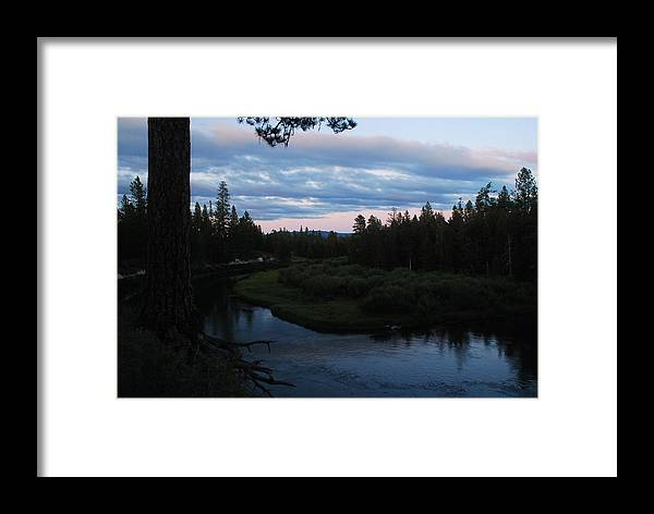 Sunset Framed Print featuring the photograph Serenity by Michael Merry