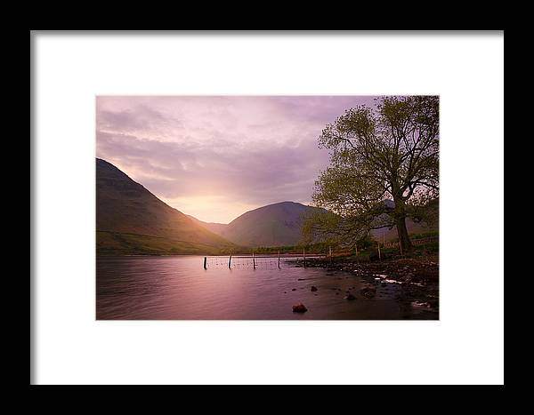 Bay Framed Print featuring the photograph Serenity by Svetlana Sewell