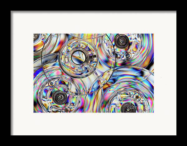 Bobbin Framed Print featuring the photograph Sewing Bobbins by Susan Isakson