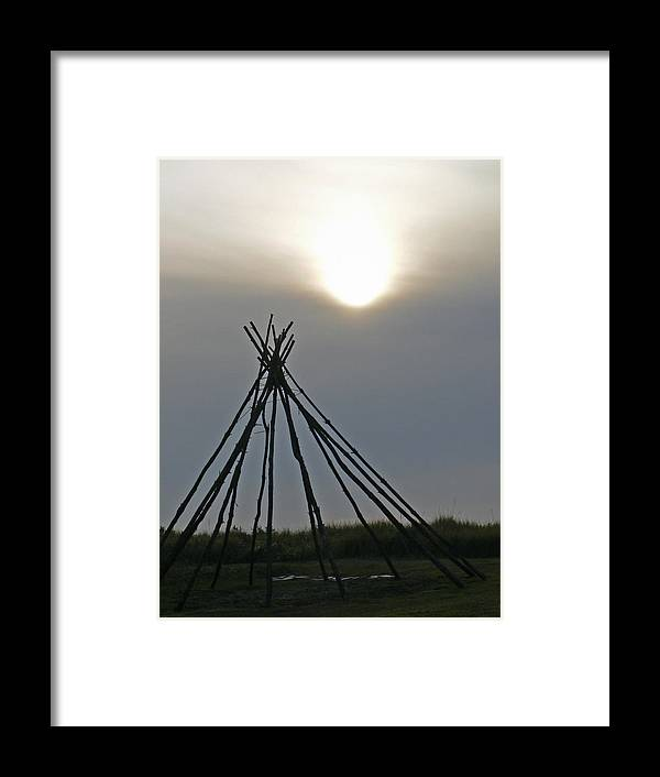 Native Framed Print featuring the photograph Shadow Dreams by Pamela Patch