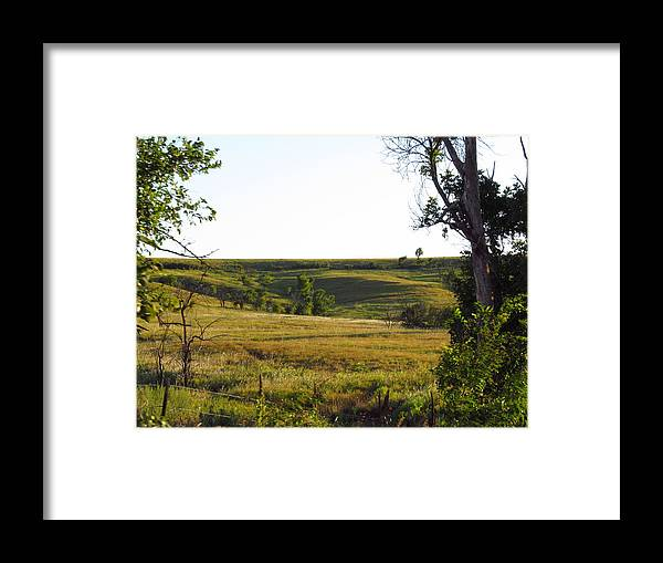 Landscapes Framed Print featuring the photograph Shadow In The Valley by Aaron Moore