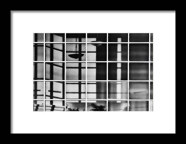 Shadows Framed Print featuring the photograph Shadow Play by Brenda Bryant