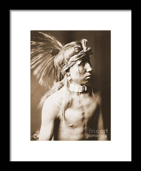 Shows As He Goes Framed Print featuring the photograph Shows As He Goes by Padre Art