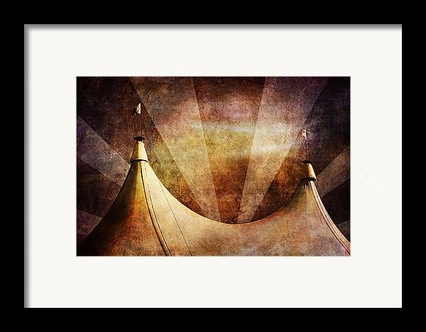 Circus Framed Print featuring the photograph Showtime by Andrew Paranavitana