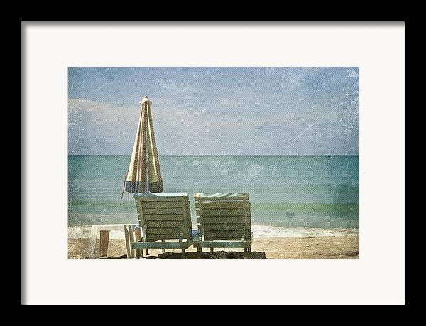 Azure Framed Print featuring the photograph Side By Side by Georgia Fowler