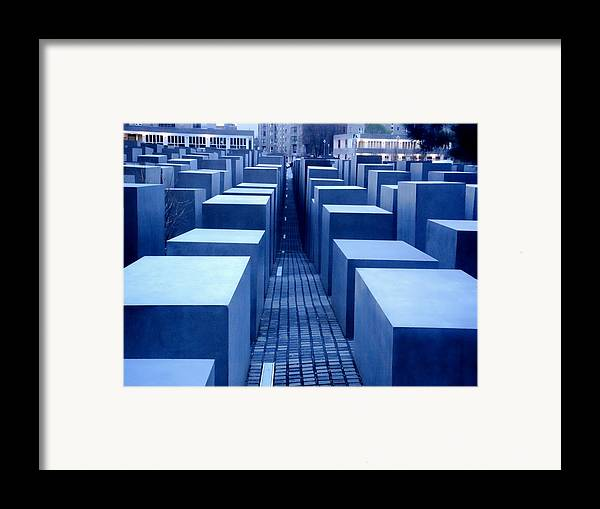 Berlin Framed Print featuring the photograph Silence by Roberto Alamino