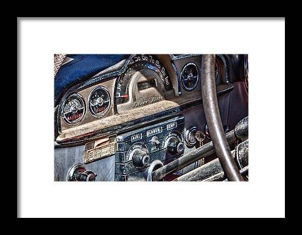 Cheyenne Framed Print featuring the photograph Silver Streak by Richard Steinberger