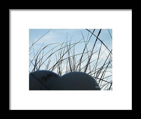 Heart Framed Print featuring the digital art Sky Heart by Laurence Oliver