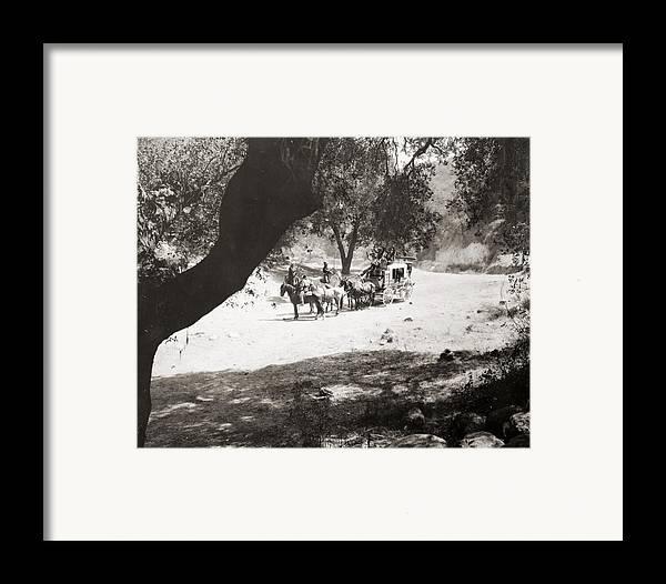 -ecq- Framed Print featuring the photograph Slam-bang Jim, 1917 by Granger