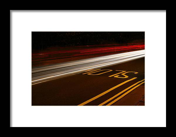 Slow Framed Print featuring the photograph Slow by Stephen Bowden