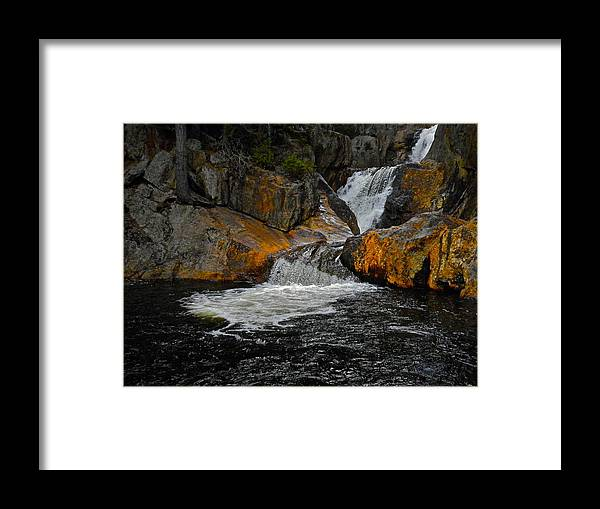 Landscape Framed Print featuring the photograph Smalls Falls 9 by George Ramos