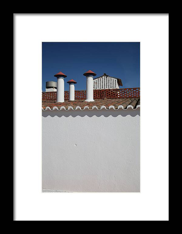 Jezcself Framed Print featuring the photograph Smokehouse by Jez C Self