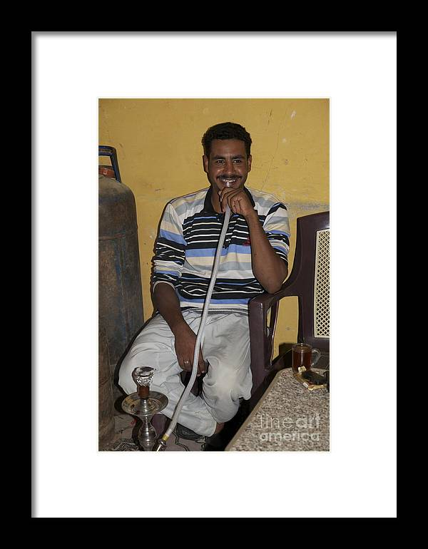 Hookah Framed Print featuring the photograph Smoking Hookah by Sean Stauffer