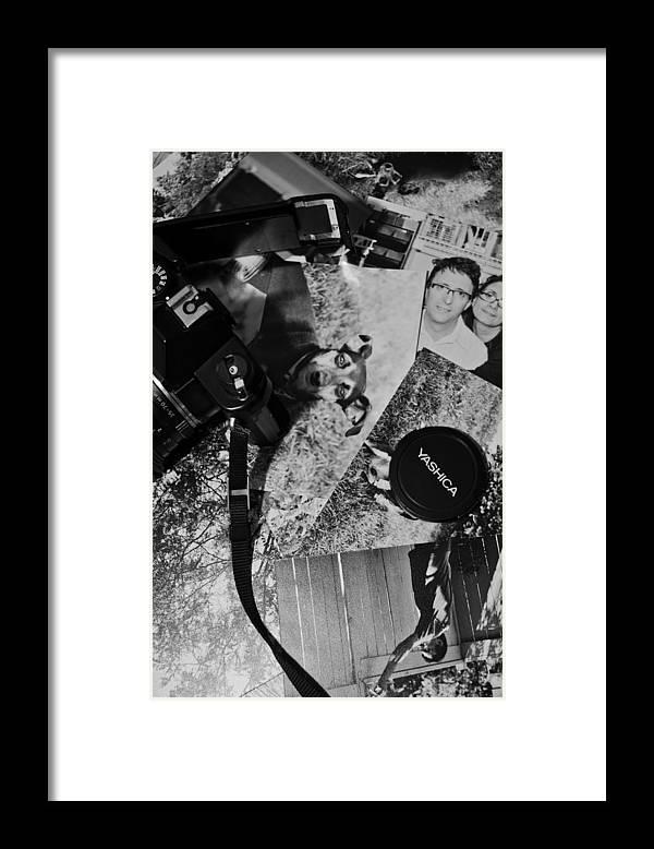 Framed Print featuring the photograph Snapshot Memories by Aryan Ganji