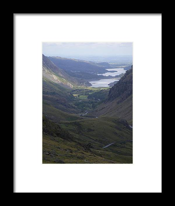 Wales Framed Print featuring the photograph Snowdon by Clare Staplehurst