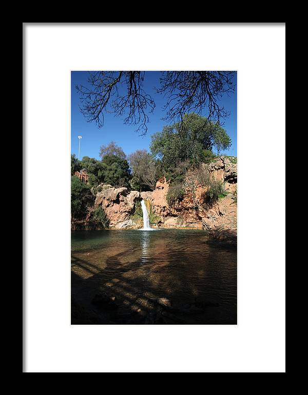 Jezcself Framed Print featuring the photograph So Serene by Jez C Self