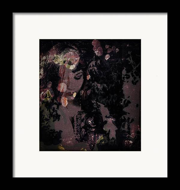Girl Framed Print featuring the photograph Something Beautiful by Adam Kissel