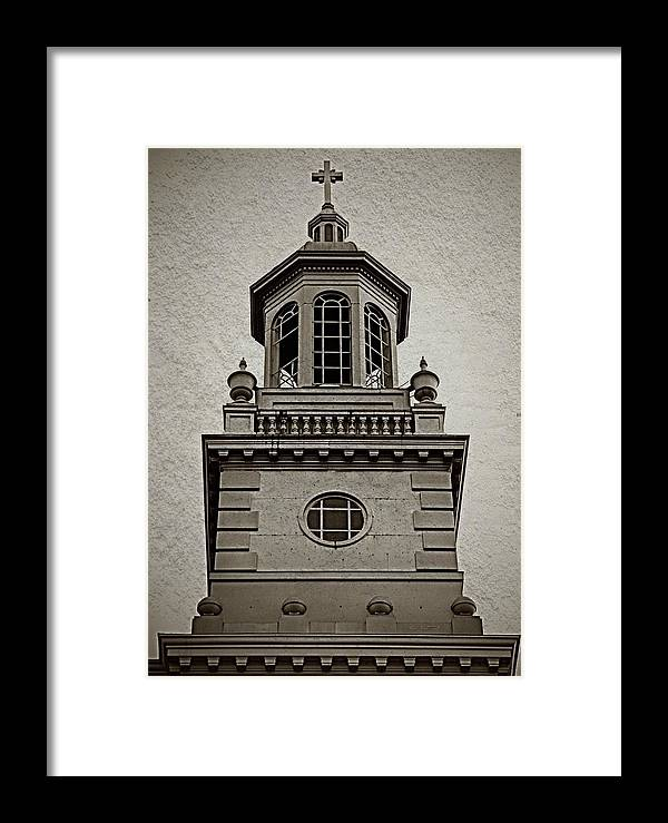 Urban Framed Print featuring the photograph Something Is Missing by Chris Berry