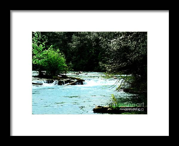 Silence Framed Print featuring the painting Soundful Silence by Abhishek Chauhan