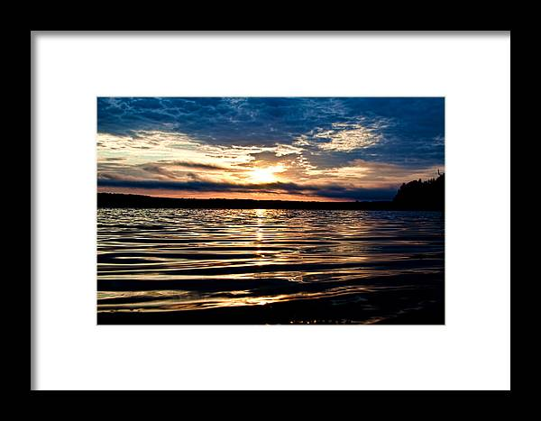 Water Framed Print featuring the photograph Sounds Of Water by Gary Smith
