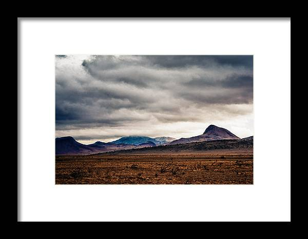 New Mexico Framed Print featuring the photograph South Of Socorro by Ed Bundy