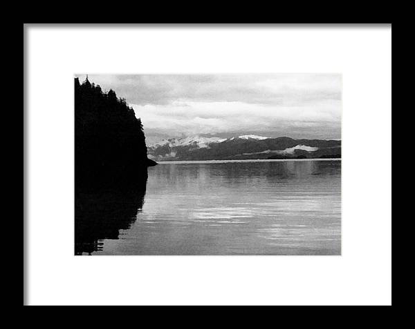 Alaska Framed Print featuring the photograph Southeast At Dusk by Brian Orion