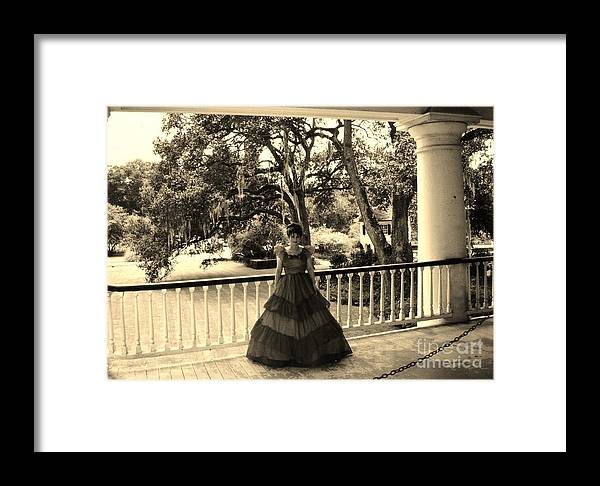 Old South Framed Print featuring the photograph Southern Belle by John Malone