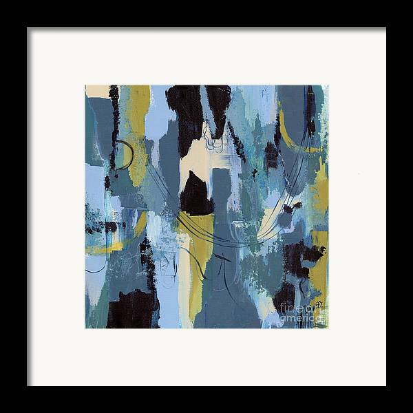 Spa abstract 1 framed print by debbie dewitt for Abstract salon of the arts