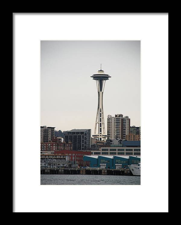 Seattle Framed Print featuring the photograph Space Needle by Michael Merry