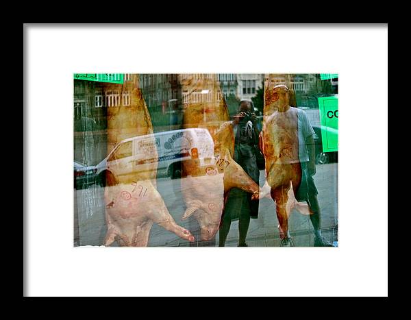Reflections Framed Print featuring the photograph Spain Reflections by Michael Cinnamond