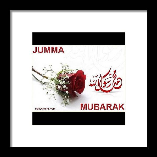 Special friday greetings friday jumma framed print by muhammad tahir instacanv framed print featuring the photograph special friday greetings friday jumma by muhammad tahir m4hsunfo