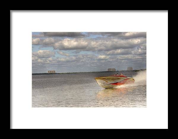 """""""live Life's Adventures"""" Framed Print featuring the digital art Speed by Barry R Jones Jr"""