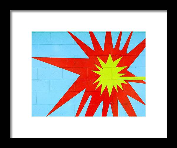 Framed Print featuring the photograph Splat by Chris Anderson
