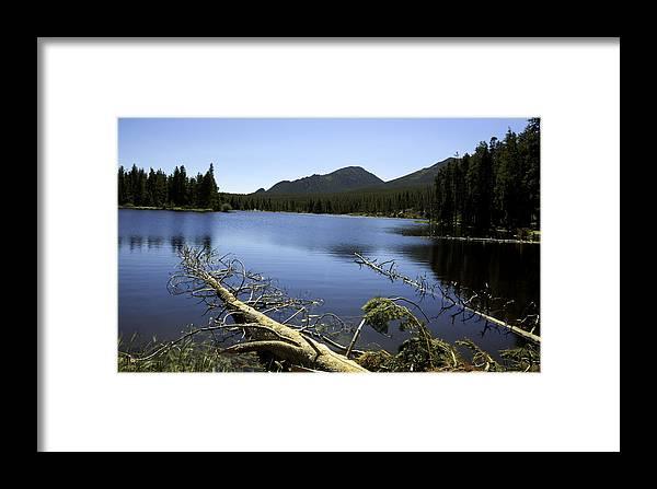 Rocky Mountain National Park Framed Print featuring the photograph Sprague Lake Rocky Mountain National Park by Gary Batha