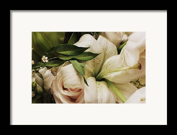 Lily Framed Print featuring the photograph Spring Flowers by Anna Villarreal Garbis