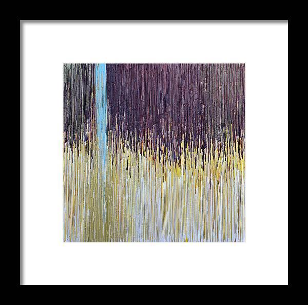 Kate Tesch Framed Print featuring the painting Sprung by Kate Tesch