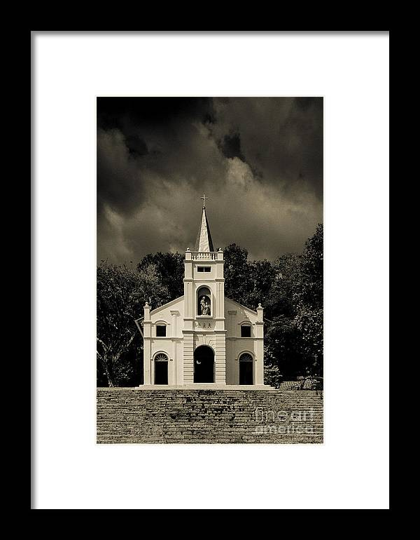 Asia Framed Print featuring the photograph St Anne's Church by John Buxton