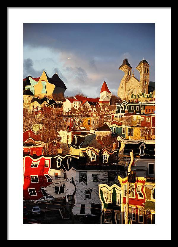 Newfoundland Framed Print featuring the photograph St Johns The Rooms by Geoff Evans