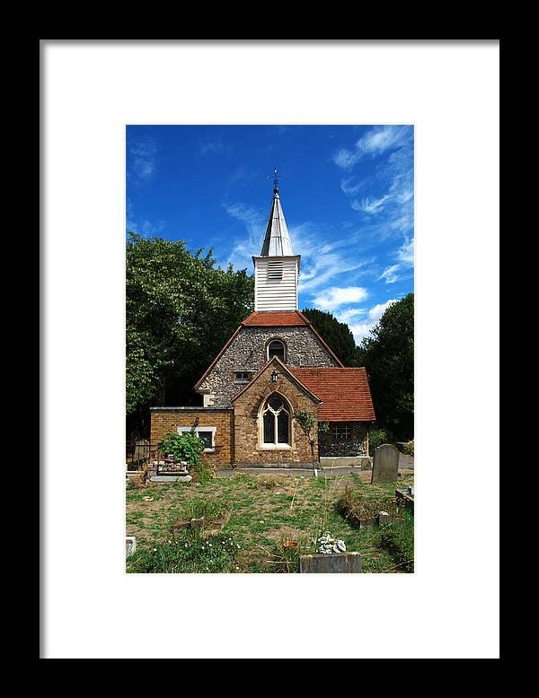 St Laurence Church Framed Print featuring the photograph St Laurence Church by Chris Day