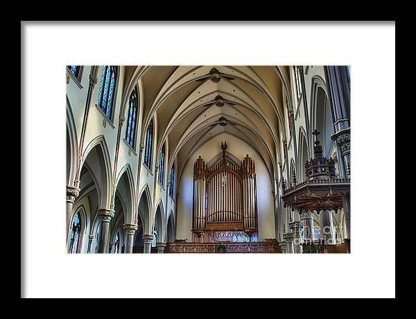 Framed Print featuring the photograph St Louis Church 13 by Chuck Alaimo