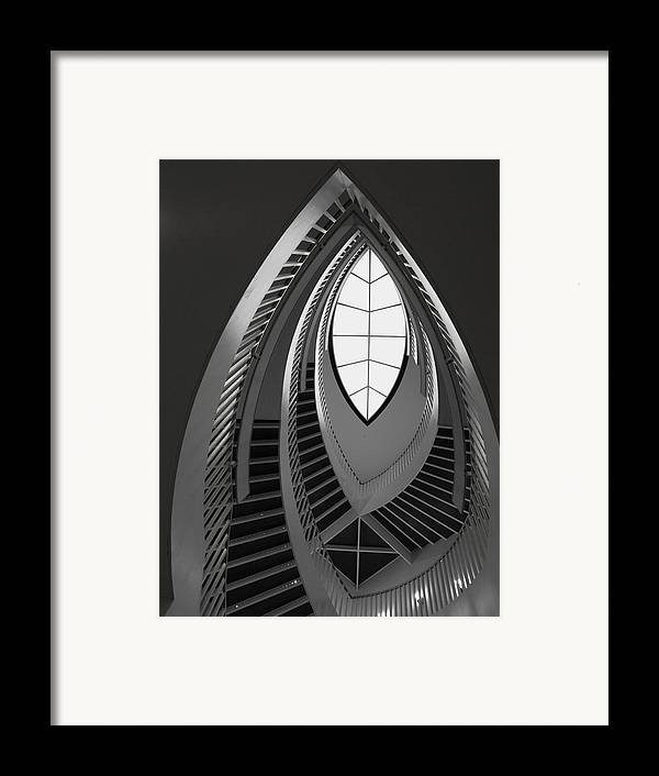 Stairs Framed Print featuring the photograph Stairs by Anna Villarreal Garbis