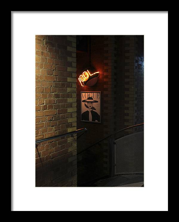 Vogue Framed Print featuring the photograph Stairway To The 50s by Pete Luckhurst