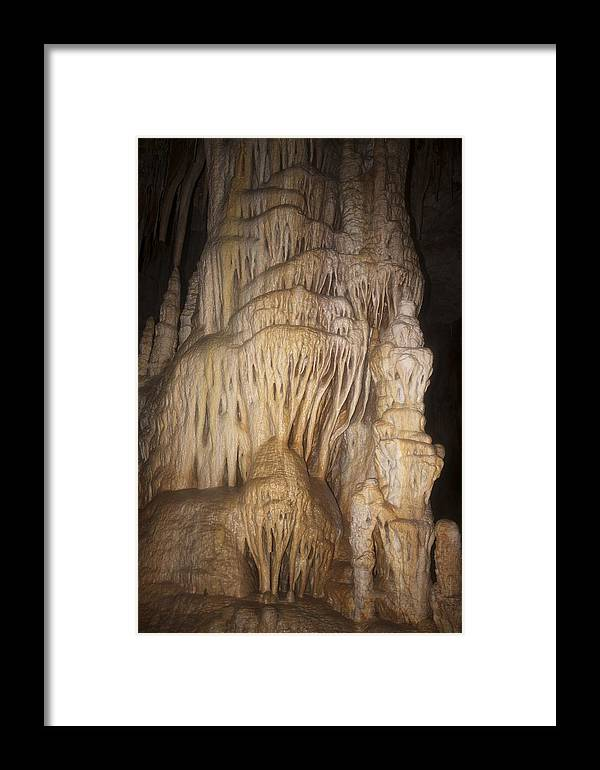 Avshalom Framed Print featuring the photograph Stalactite Cave by Photostock-israel