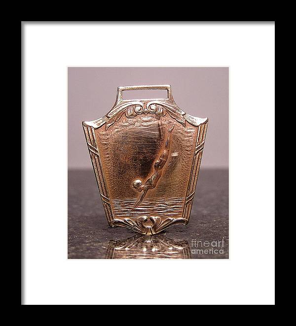 Medals Framed Print featuring the jewelry Stampings 22 by Dwight Goss