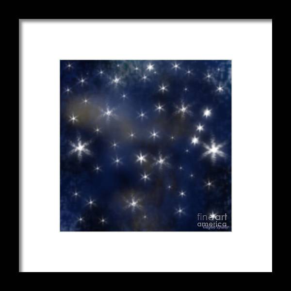 Clay Framed Print featuring the photograph Starry Night by Clayton Bruster