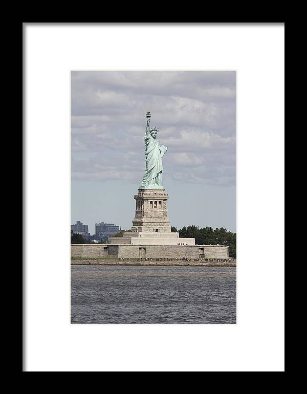 Statue Of Liberty Framed Print featuring the photograph Statue Of Liberty by Natalija Wortman