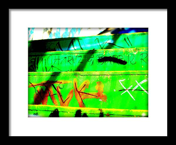 Libra.love.freedom Framed Print featuring the photograph Step Up by D Wash