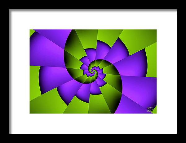 Abstract Framed Print featuring the digital art Steps To An Ecology Of Mind by Manny Lorenzo