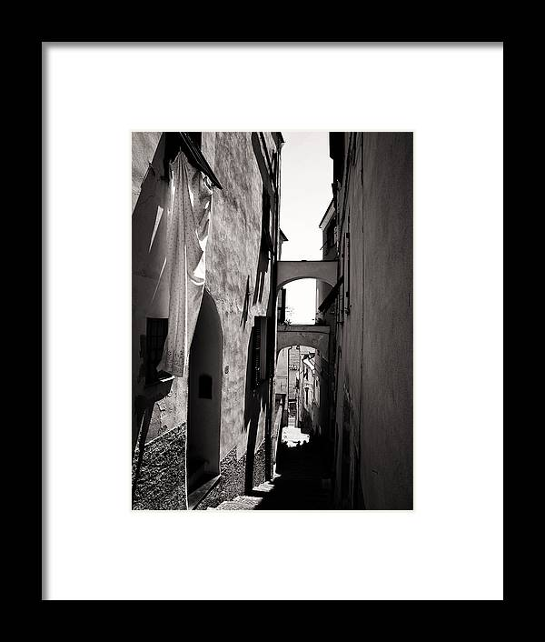 Italy Framed Print featuring the photograph Steps To The Seaside by Philip G