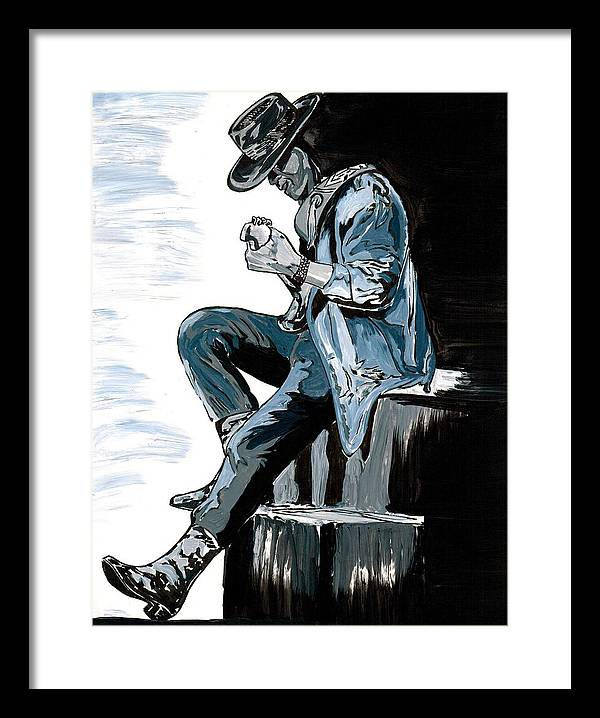 Stevie Ray Vaughn by Jim Porterfield